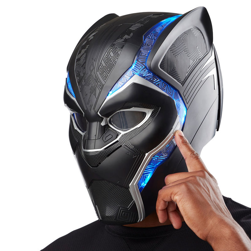 Casco Electronico Black Panther Marvel Legends By Hasbro (2)