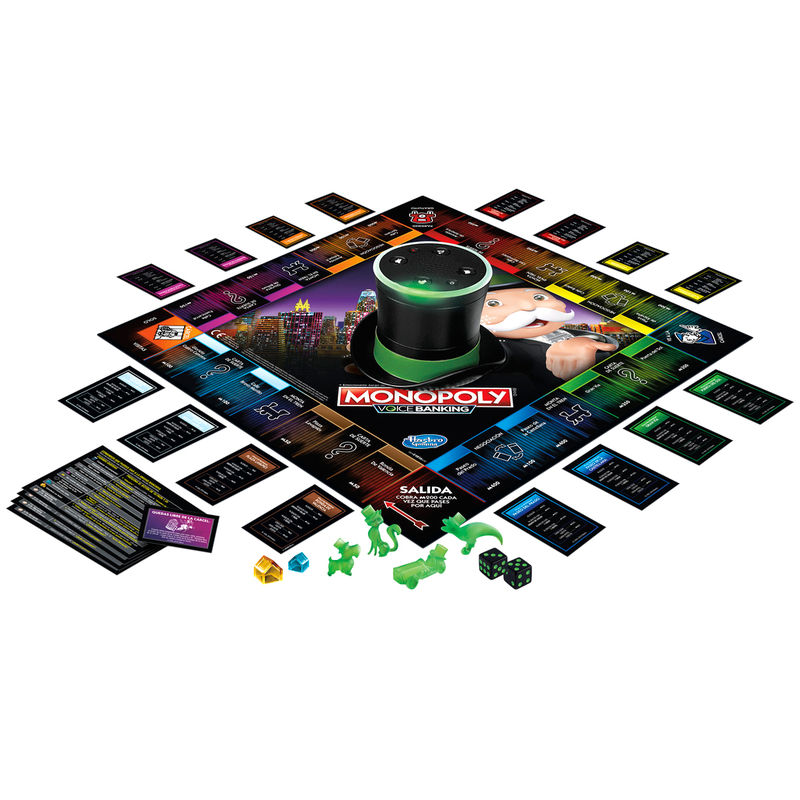 Juego Monopoly Voice Banking By Hasbro