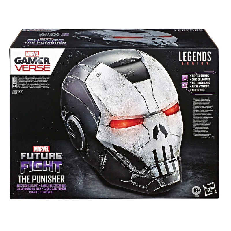 Casco Electronico The Punisher Gamer Verse Marvel Legends By Hasbro (5)