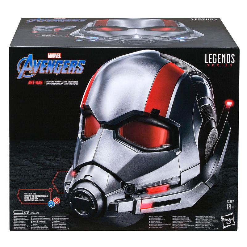 Casco Electronico Ant Man Vengadores Avengers Marvel Legends