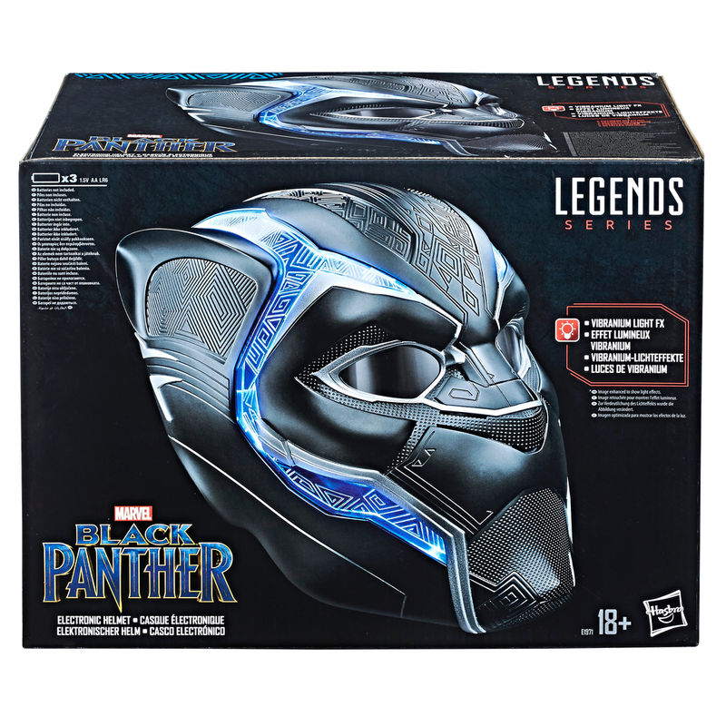 Casco Electronico Black Panther Marvel Legends By Hasbro (5)