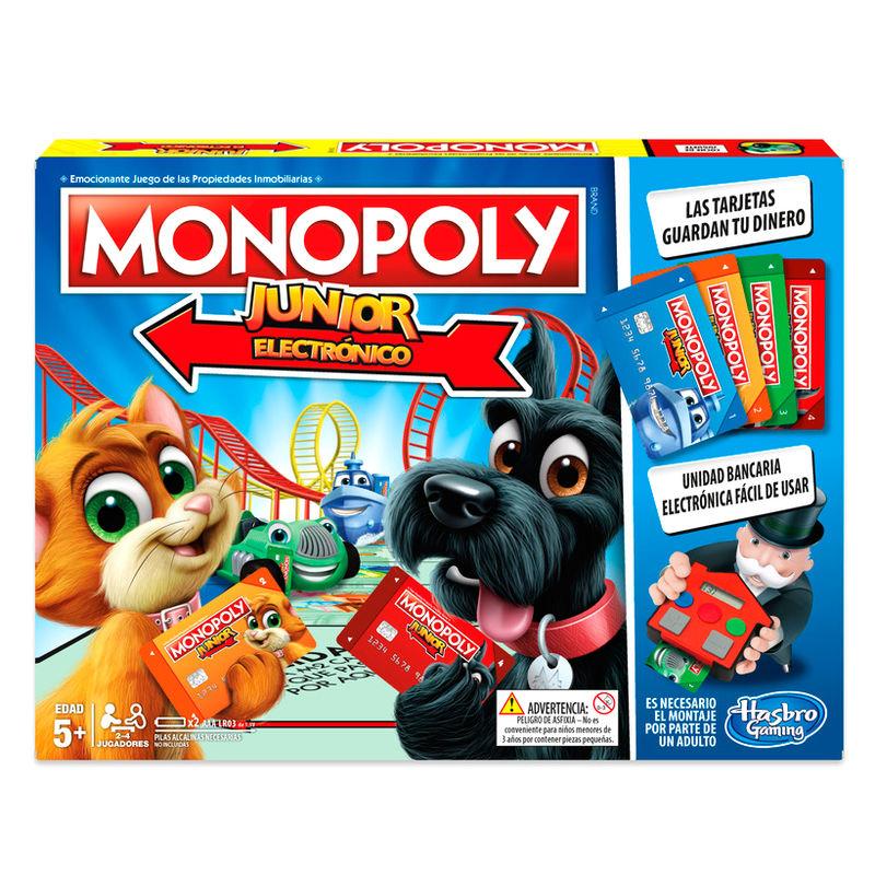 Juego Monopoly Junior Electronico