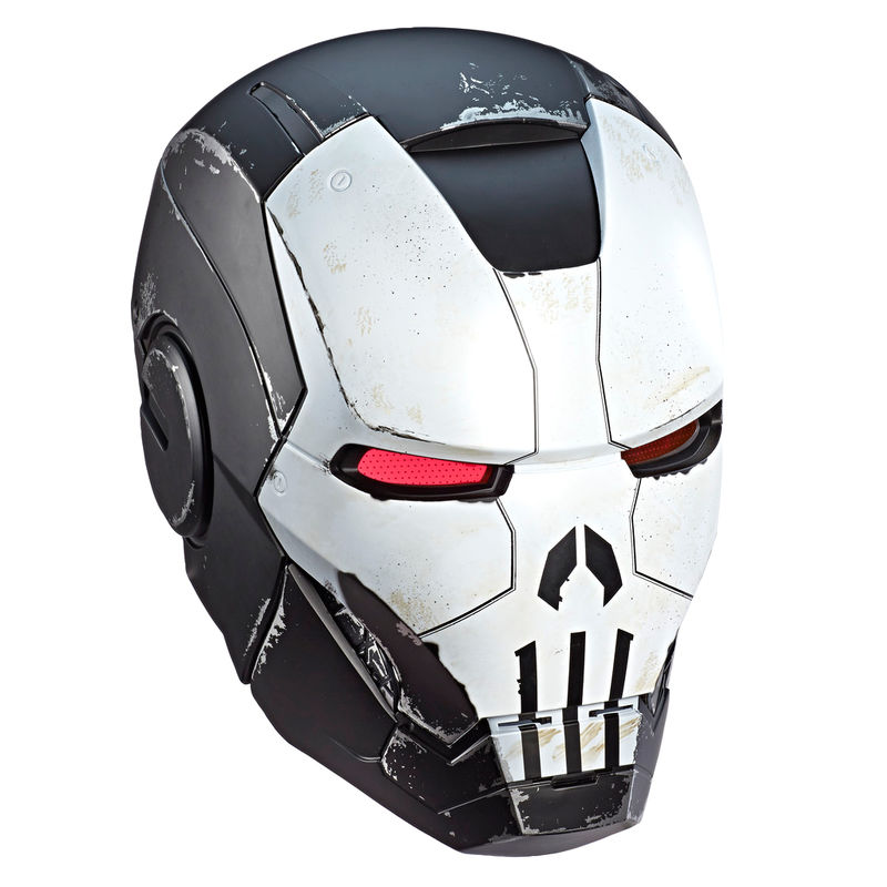 Casco Electronico Punisher Gamer Verse Marvel Legends By Hasbro
