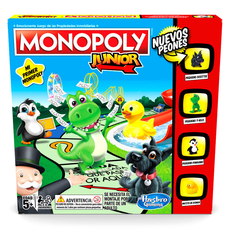 Juego Monopoly Junior 5010993557608