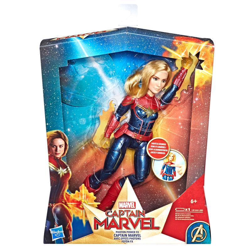 Muñeca electronica Capitana Marvel 29cm