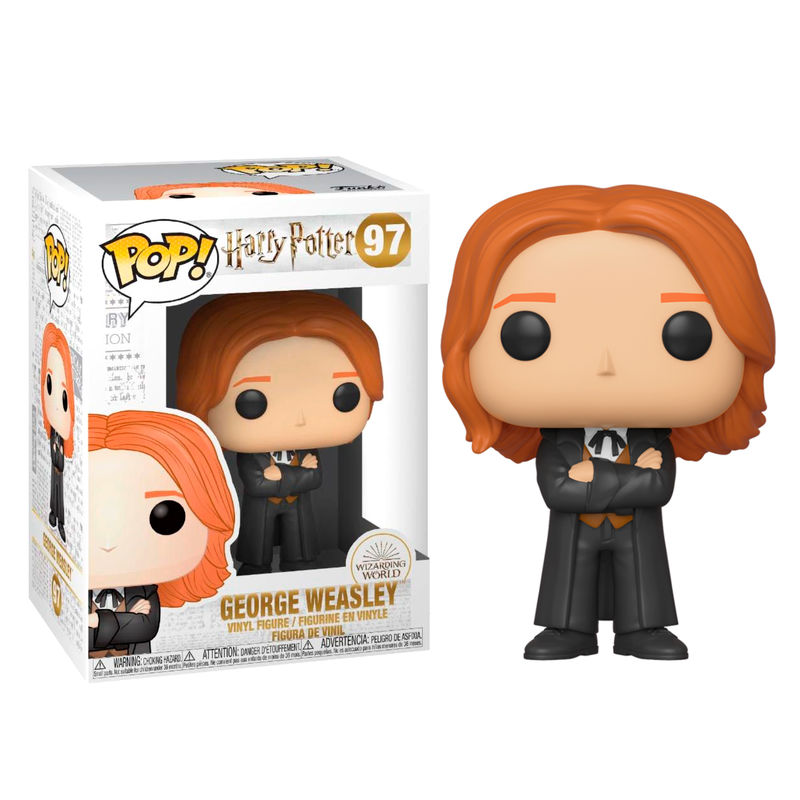 Funko POP o Figura POP Harry Potter George Weasley Yule