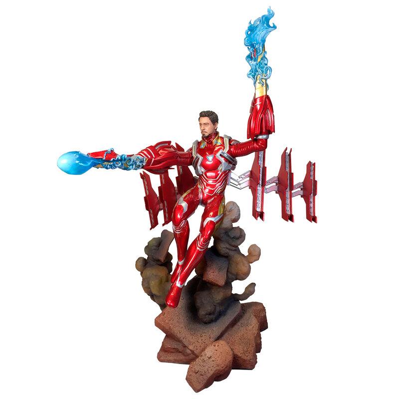 Estatua Iron Man MK50 Unmasked Vengadores Avengers Infinity War Marvel Movie Gallery 23cm