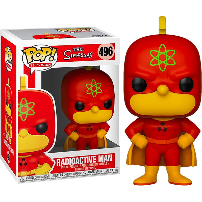 Figura POP Simpsons Radioactive Man