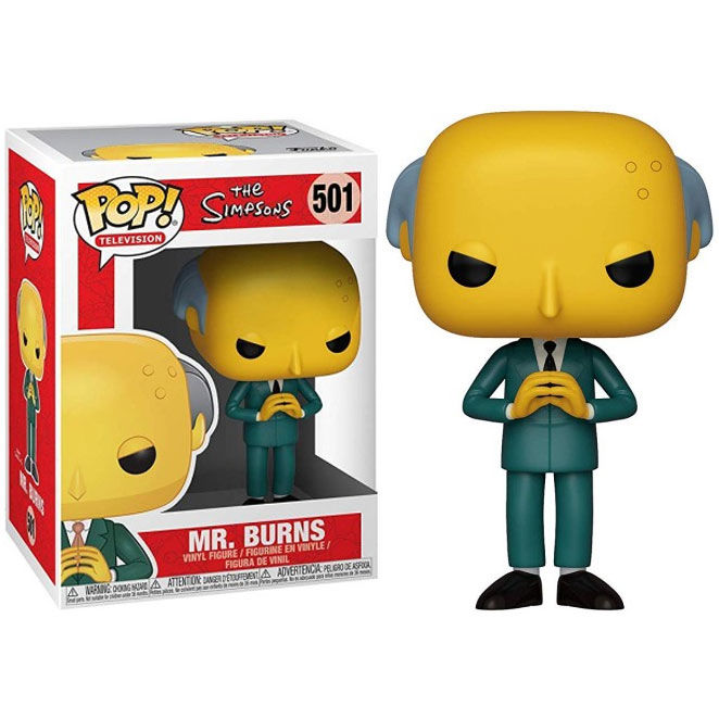 Funko POP o Figura POP Simpsons Sr Burns