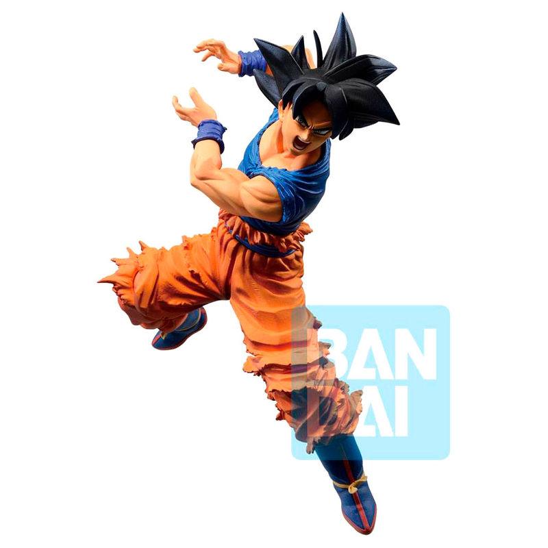 Figura Ichibansho Son Goku Ultra Instinct Dokkan Battle Dragon Ball Z 17cm 4983164161182
