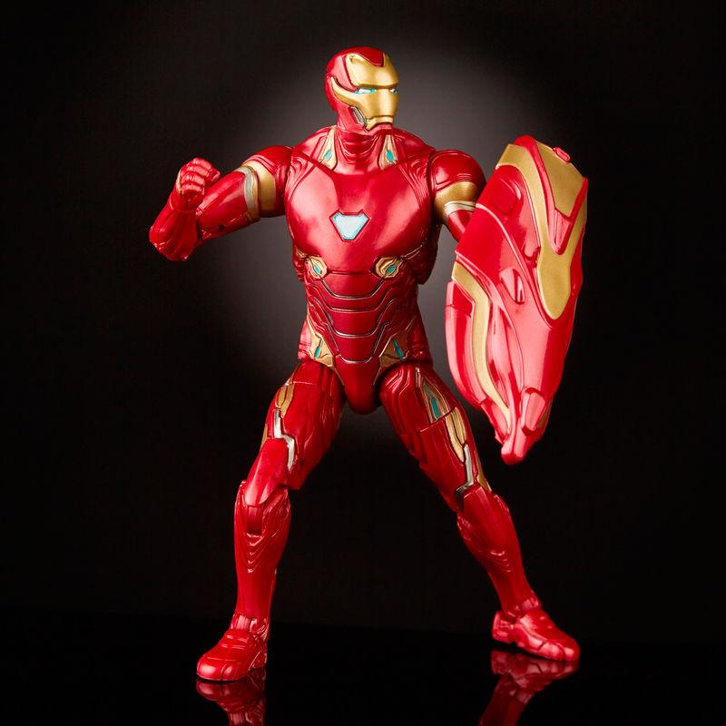 Set figuras Iron Spider & Iron Man 80 Aniversario Marvel Legends By Hasbro (2)
