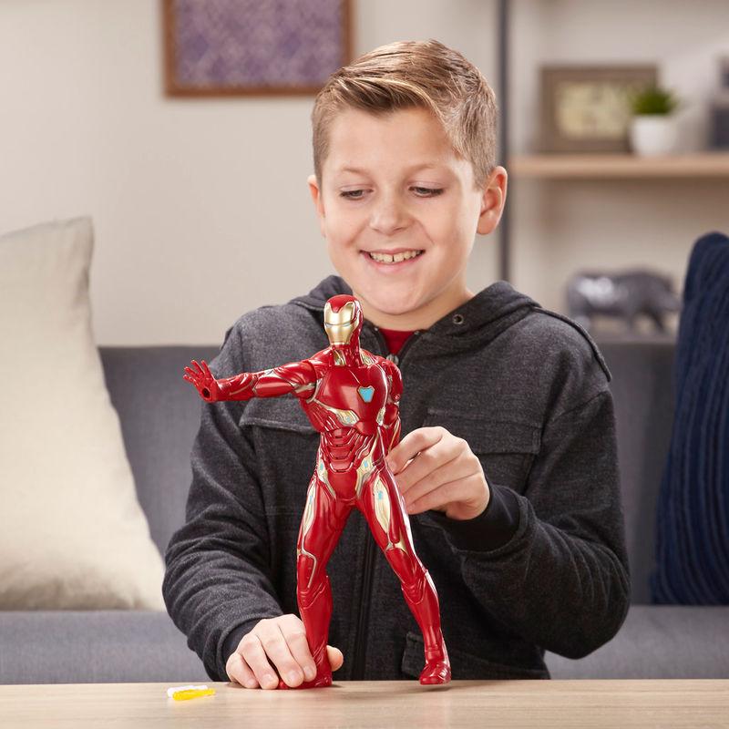Figura electronica Iron Man Vengadores Avengers Marvel By Hasbro (2)