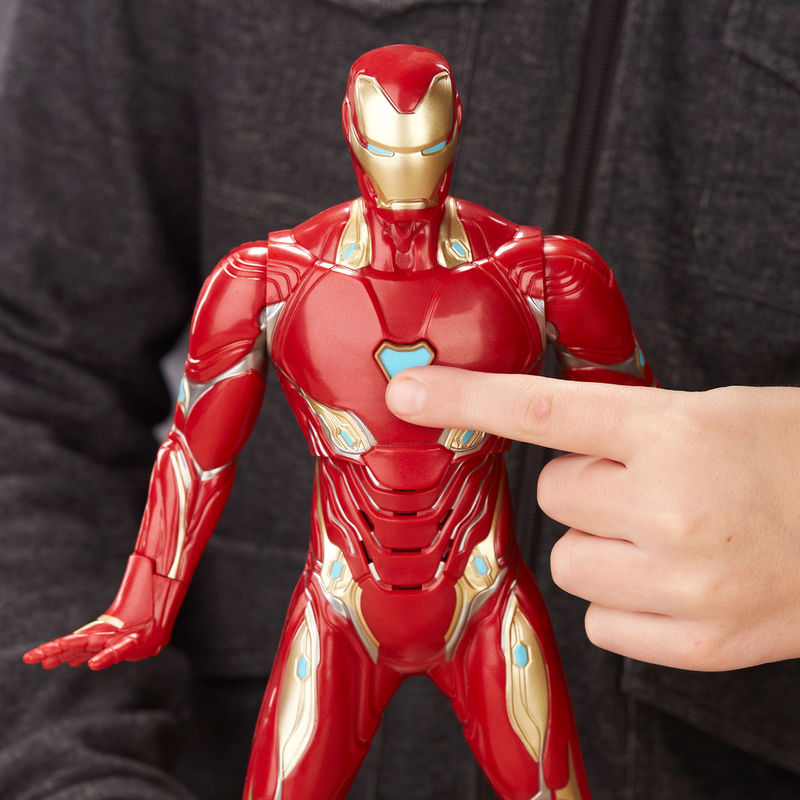 Figura electronica Iron Man Vengadores Avengers Marvel By Hasbro (4)