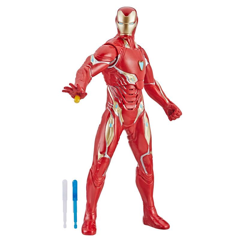 Figura electronica Iron Man Vengadores Avengers Marvel By Hasbro (5)