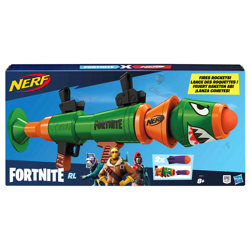 Lanza cohetes Fortnite Nerf By Hasbro