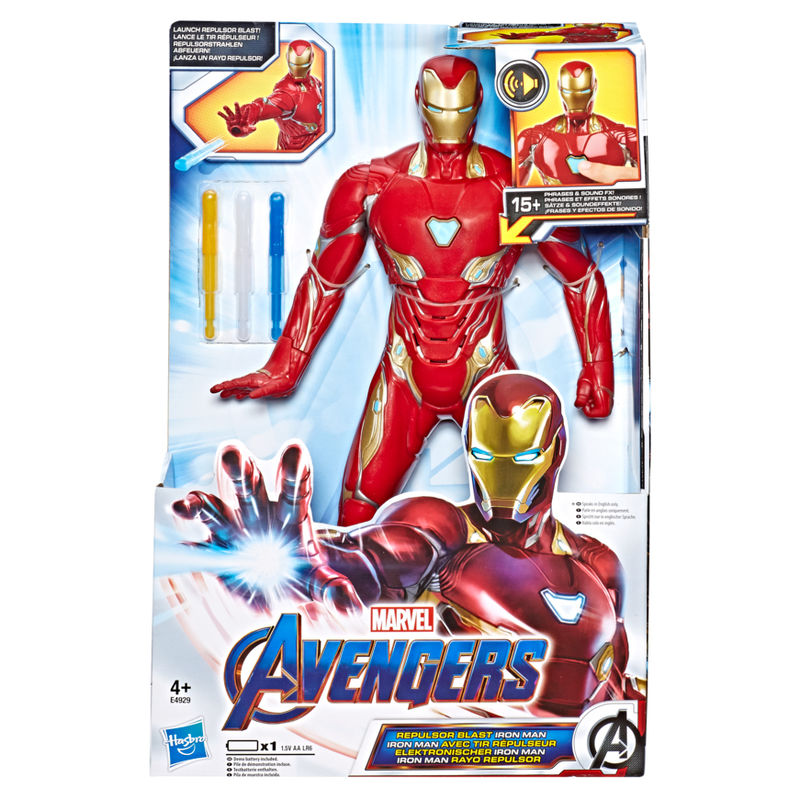 Figura electronica Iron Man Vengadores Avengers Marvel By Hasbro