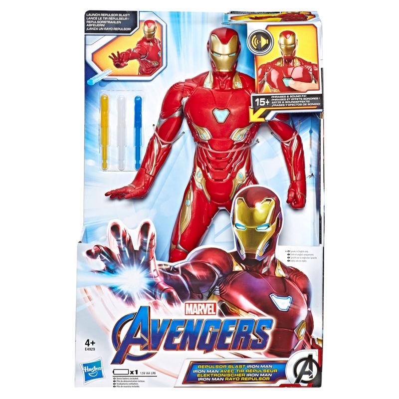 Figura electronica Iron Man Vengadores Avengers Marvel By Hasbro