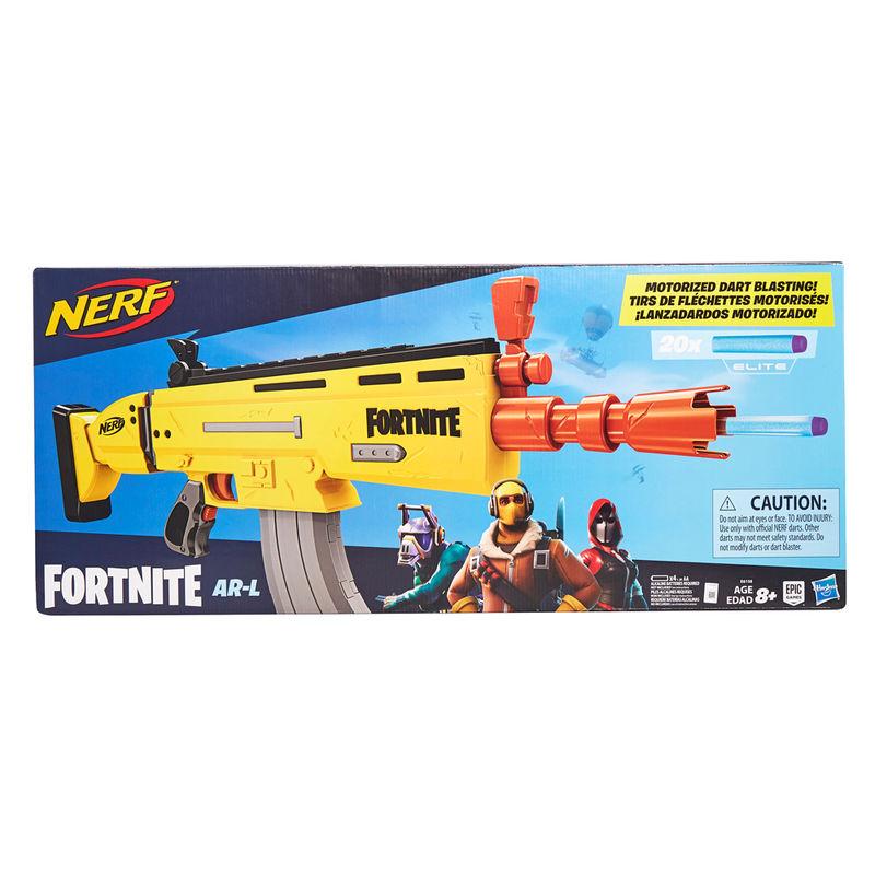 Lanzadardos motorizado Fortnite Nerf