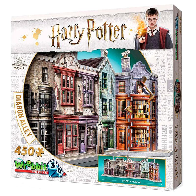 Puzzle 3D Callejon Diagon Harry Potter