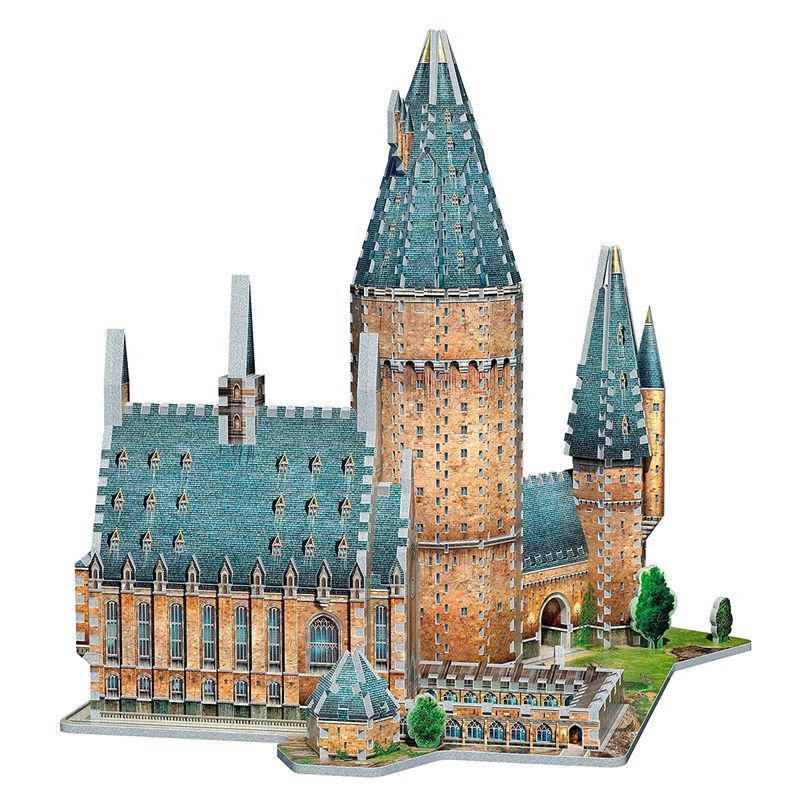 Puzzle 3D Gran Comedor Harry Potter