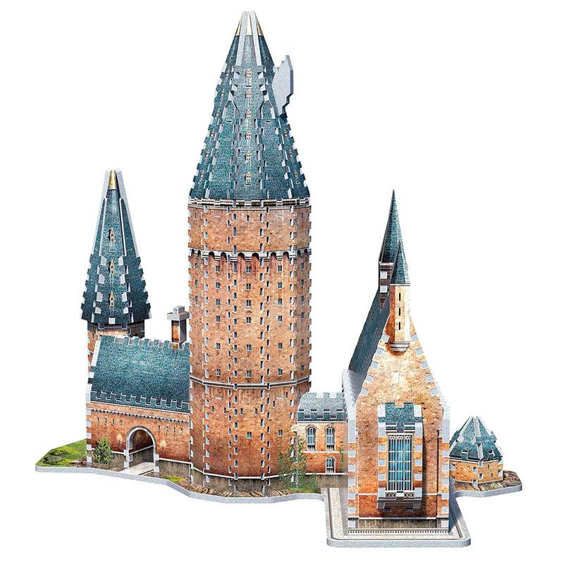 Puzzle 3D Gran Comedor Harry Potter (2)