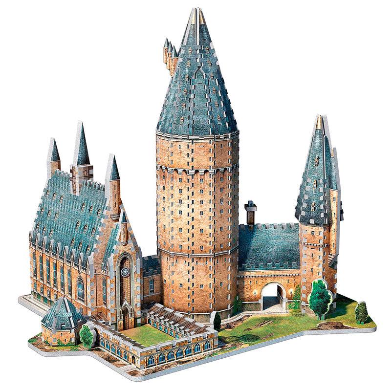 Puzzle 3D Gran Comedor Harry Potter (4)