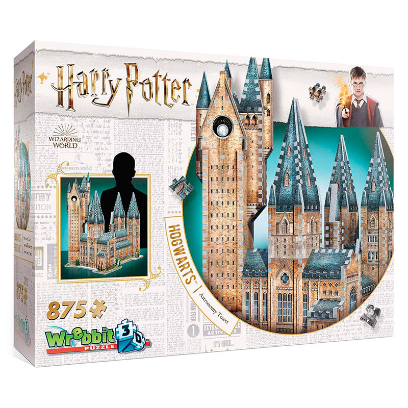 Puzzle 3D Torre de Astronomia Harry Potter