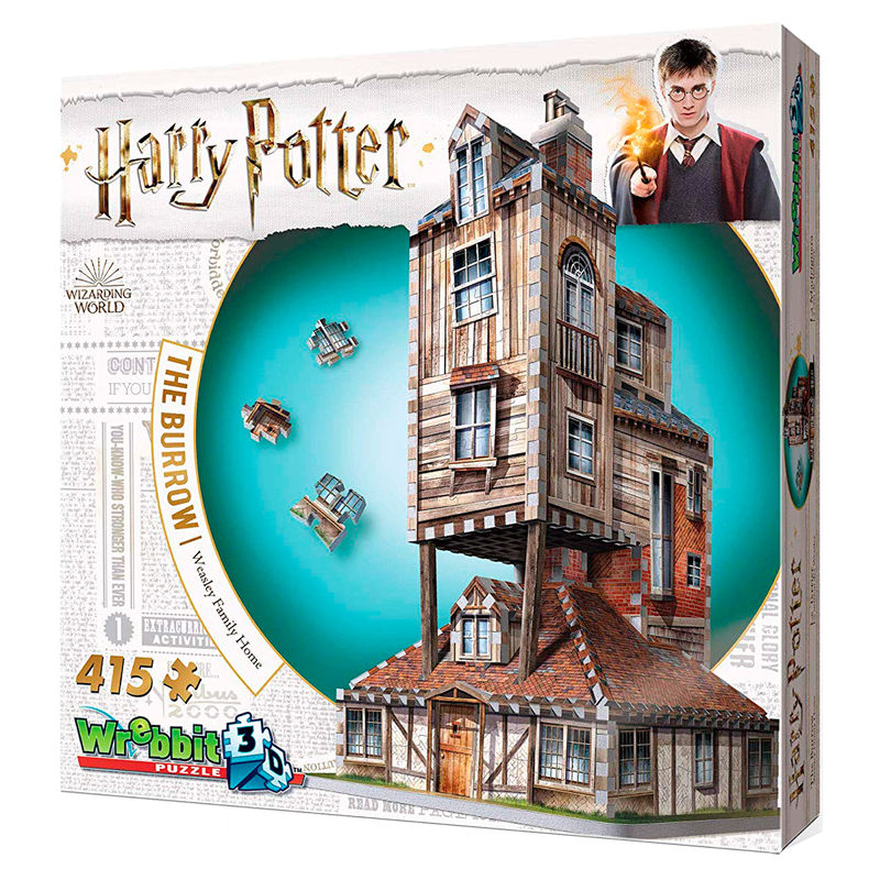 Puzzle 3D Madriguera Weasley Harry Potter
