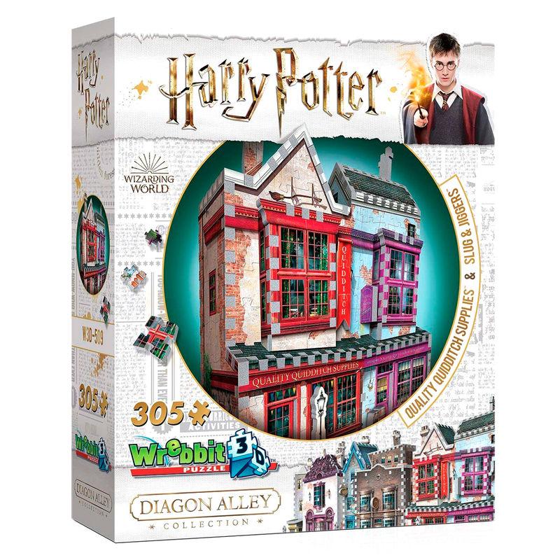 Puzzle 3D Quidditch Supplies Slugg & Jiggers Harry Potter