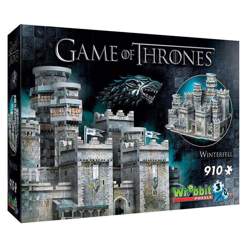 Puzzle 3D Invernalia Juego de Tronos