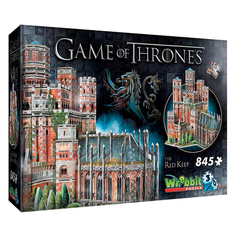 Puzzle 3D La Fortaleza Roja Juego de Tronos