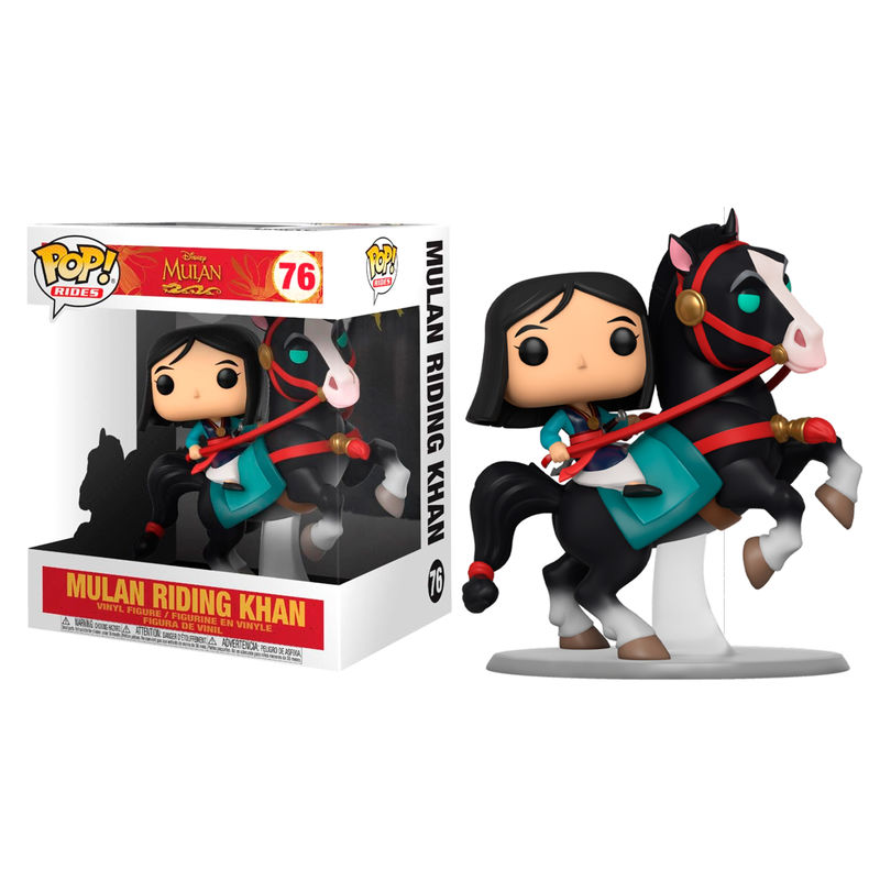 Funko POP o Figura POP Disney Mulan on Khan