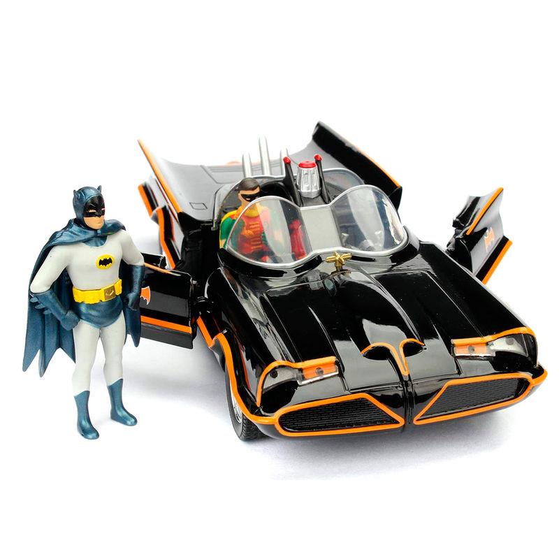 Set figura & coche metal Batmovil 1966 Classic TV Batman DC Comics