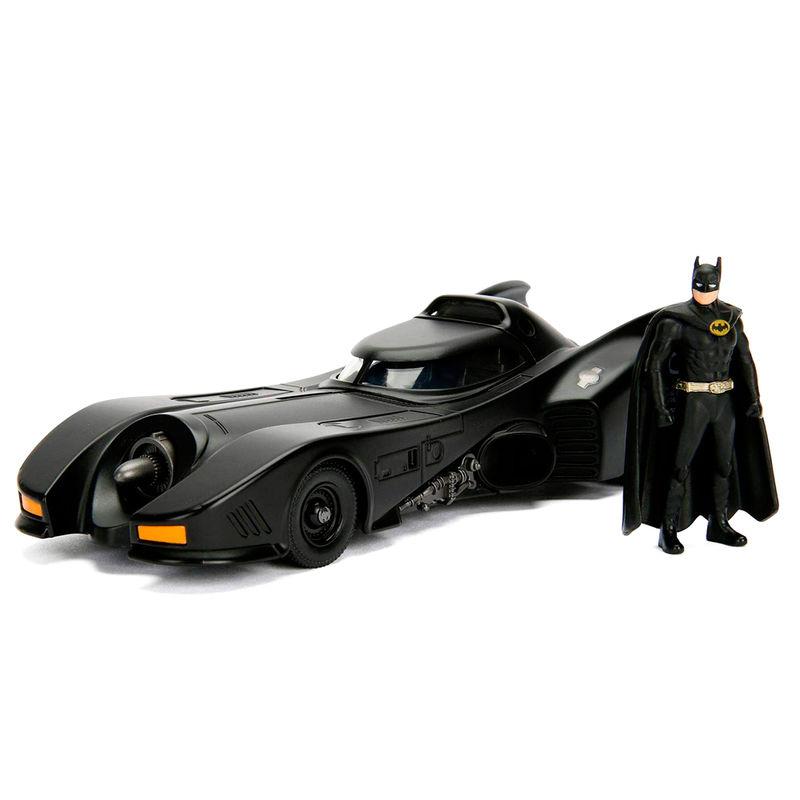 Set figura & coche metal Batmovil 1989 DC Comics