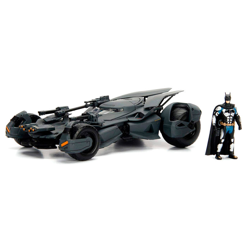 Set figura + coche Batmovil metal La Liga de la Justicia DC Comics 4006333064852