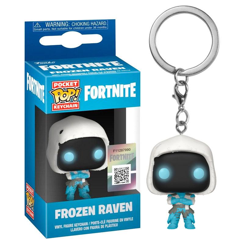 Llavero Pocket POP Fortnite Frozen Raven 889698447539