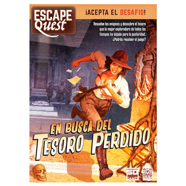 Juego de Mesa En Busca del Tesoro Perdido Escape Quest
