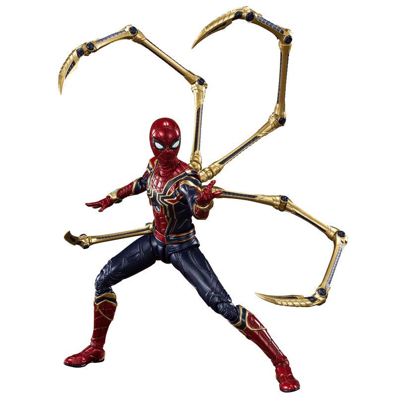 Figura Iron Spider Batalla Final Endgame Vengadores Avengers Marvel 15cm