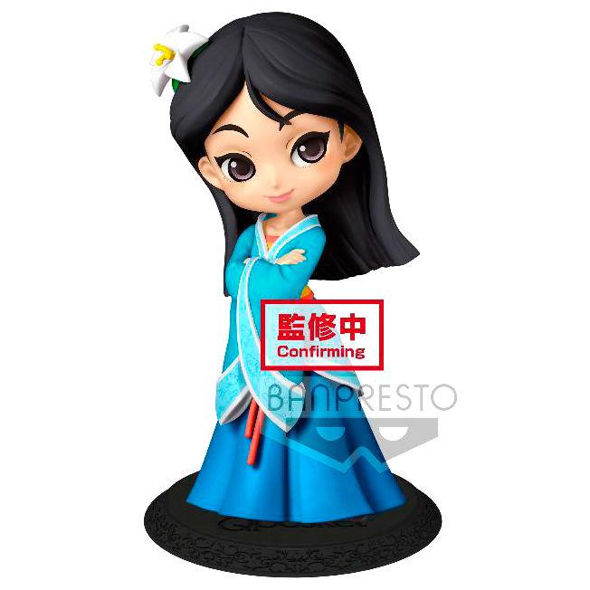 Figura Mulan royal Style Disney Q Posket B 14cm By Banpresto