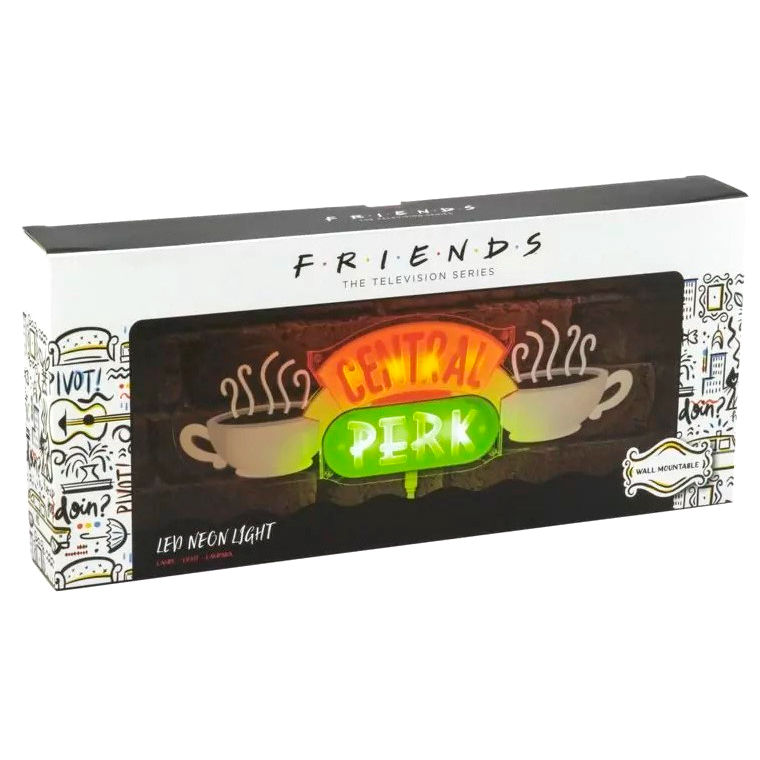 Lampara led Central Perk Friends