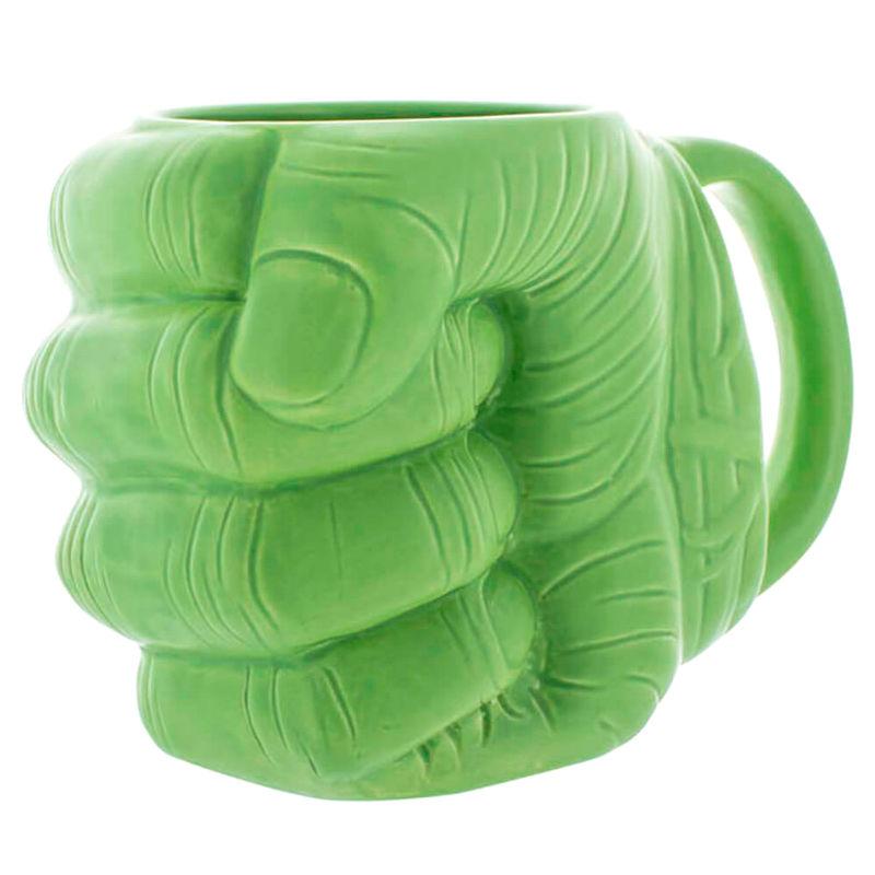Taza 3D Puño Hulk Vengadores Avengers Marvel 5055964701857