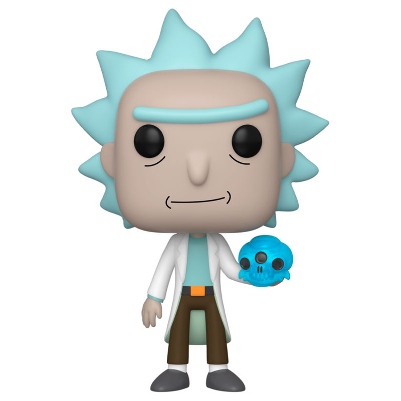 Funko POP o Figura POP Rick and Morty Rick with Crystal Skull