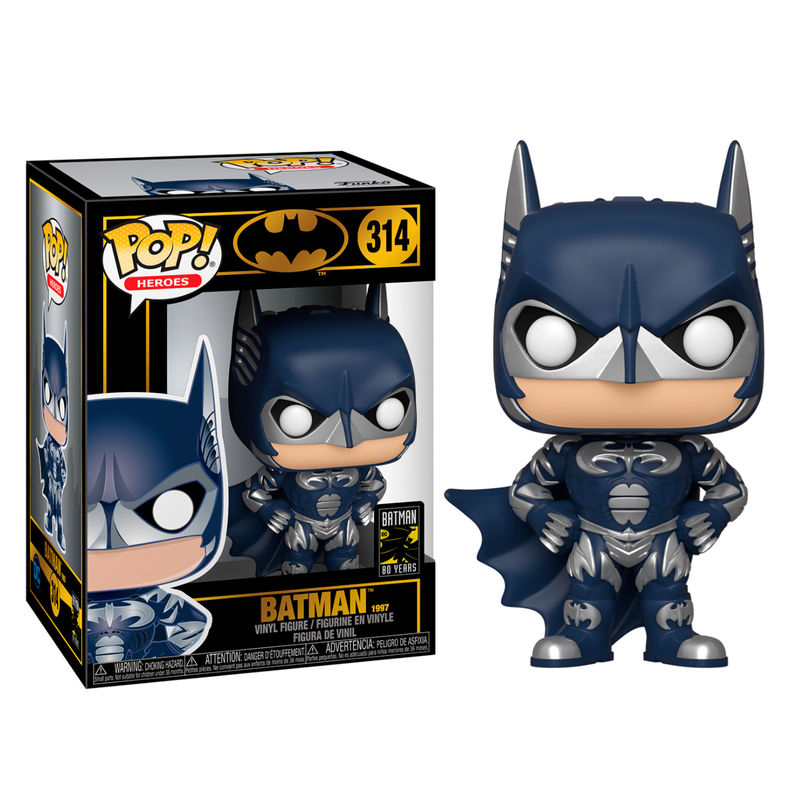 Funko POP o Figura POP DC Comics Batman 80th Batman 1997