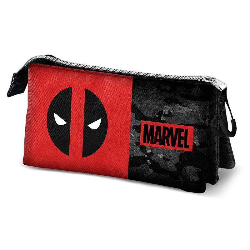 Portatodo Triple Deadpool Marvel