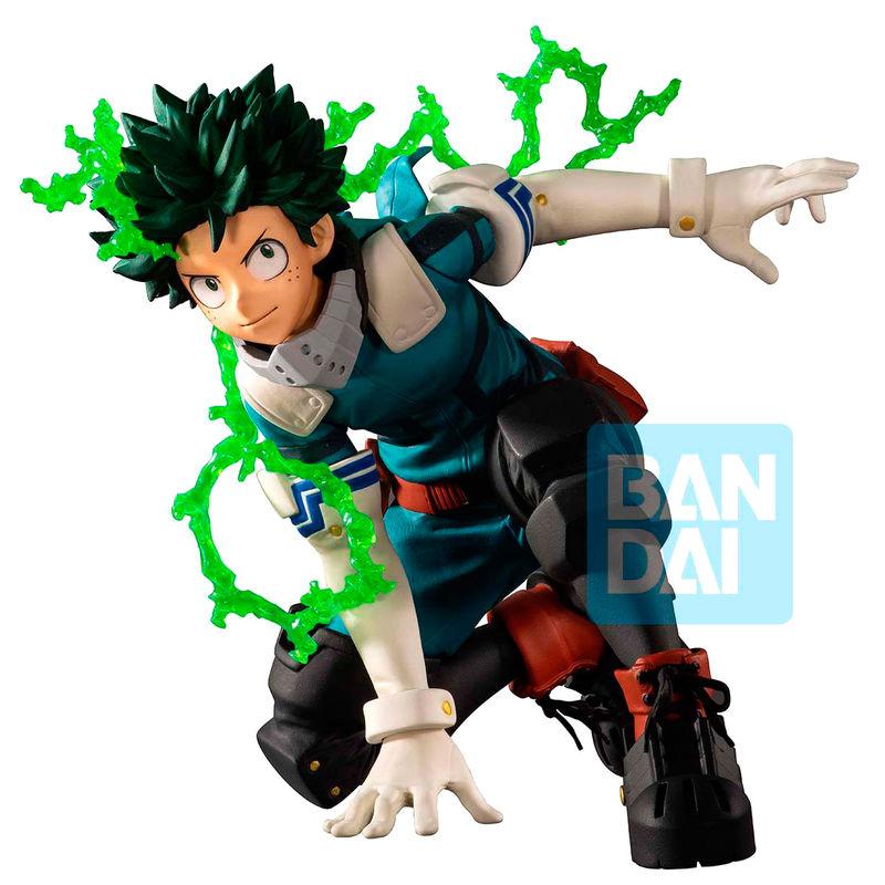 Figura Izuku Midoriya Next Generations feat. Smash Rising My Hero Academia 10cm