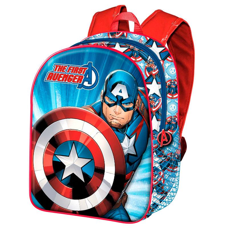 Mochila Capitan America Marvel 40cm
