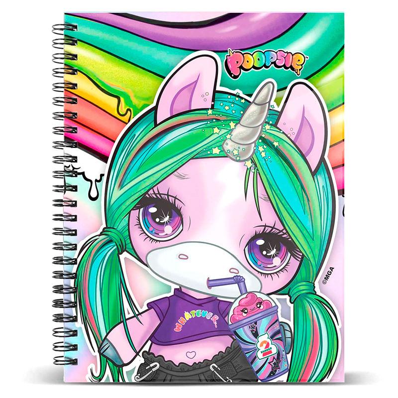 Libreta Unicorn Poopsie 8445118005479