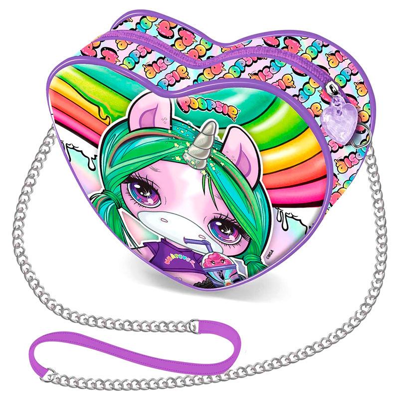 Bolso corazon Unicorn Poopsie 8445118005509