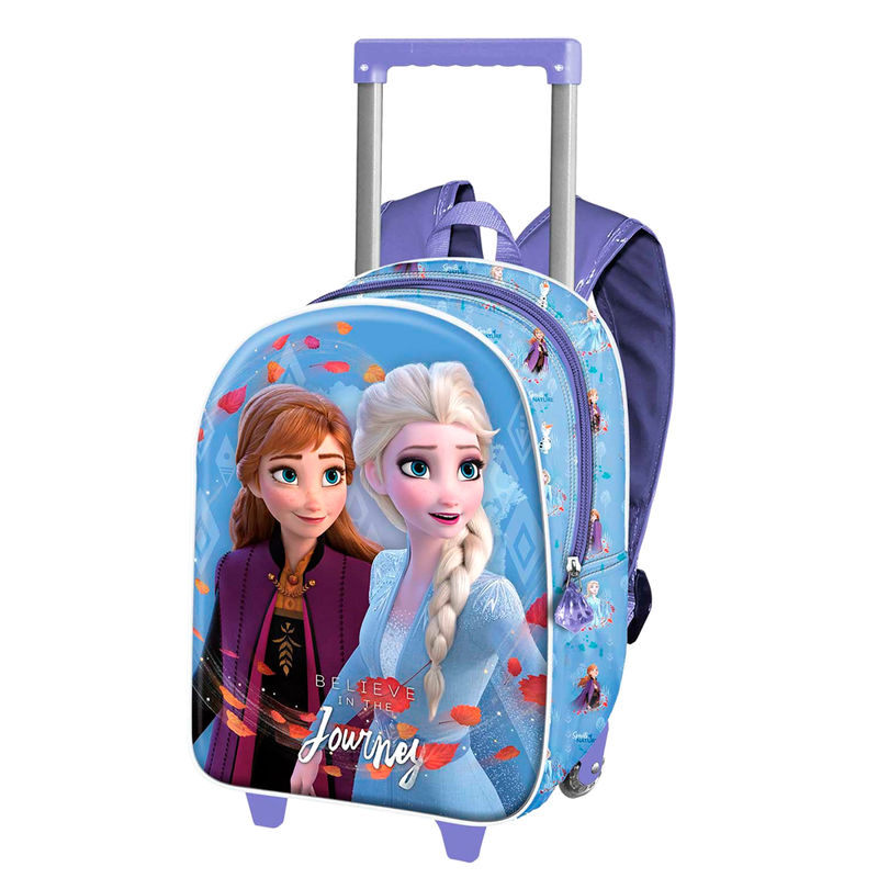Trolley 3D Frozen 2 Journey Disney 34cm