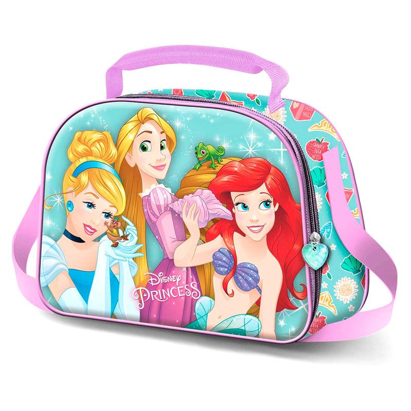 Bolsa portameriendas 3D Princesas Disney